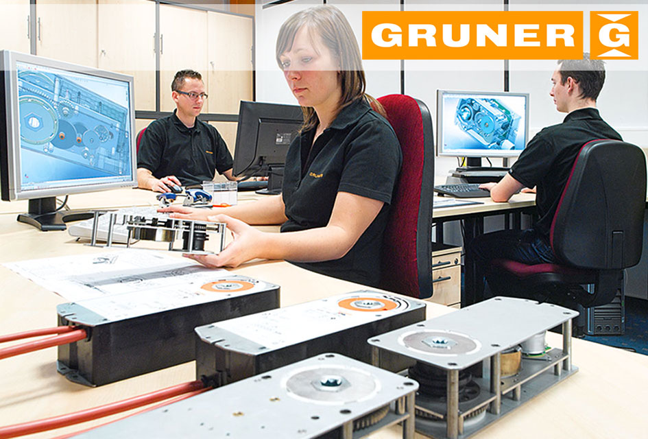 Gruner кабинет проектантов и конструкторов
